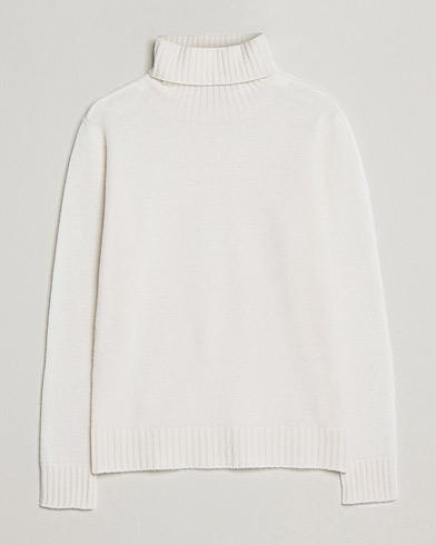 Altea Wool/Cashmere Turtleneck Sweater Latte