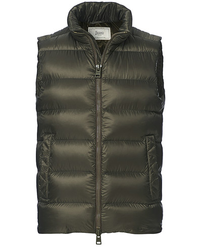 Herno Globe Down Puffer Gilet Forest Green