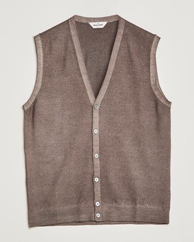 Gran Sasso Vintage Merino Fashion Fit Slipover Beige