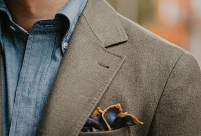 Kaulus - nappikauluksisen paidan tärkein osa