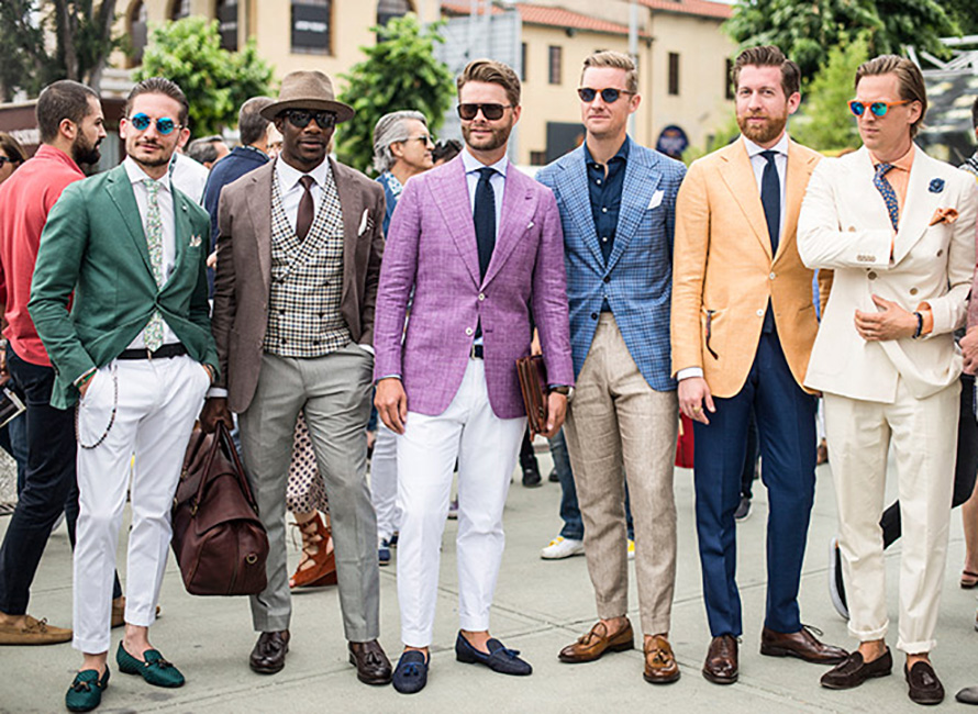 Pitti Uomo loafers