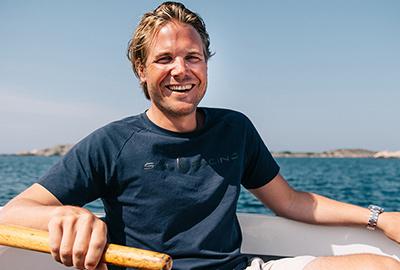 Intervju med daglig leder hos Sail Racing, Joakim Berne
