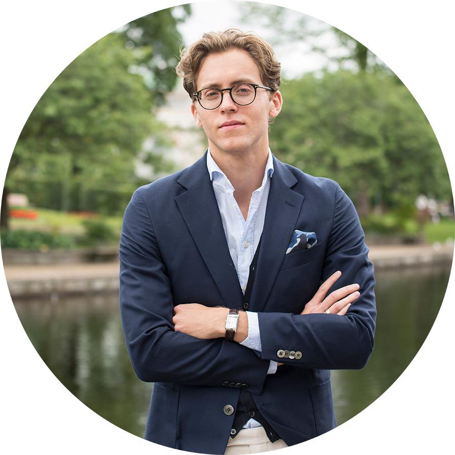 Portträtt på Rasmus Motten