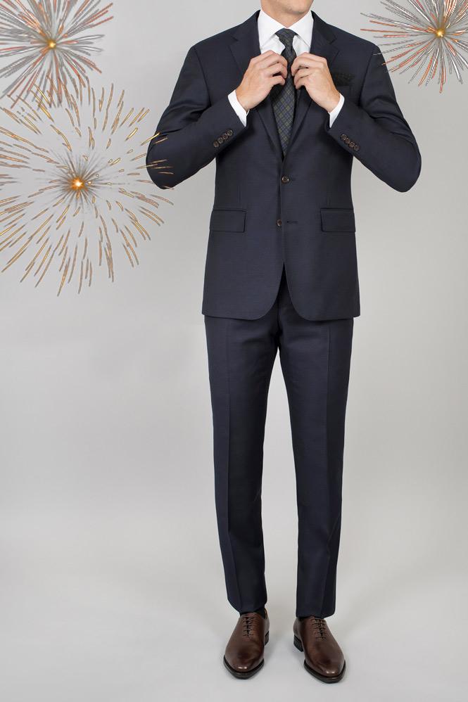Kostymoutfit för nyår