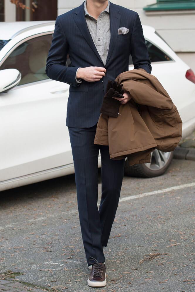 Jobboutfit i kostym