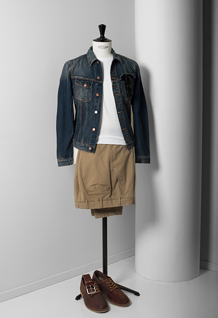 1 plagg, 3 outfits: Jeansjackan |