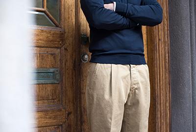 Bukser med læg