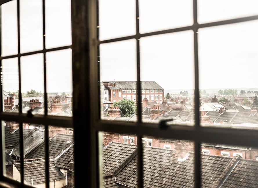 Utsikt över staden