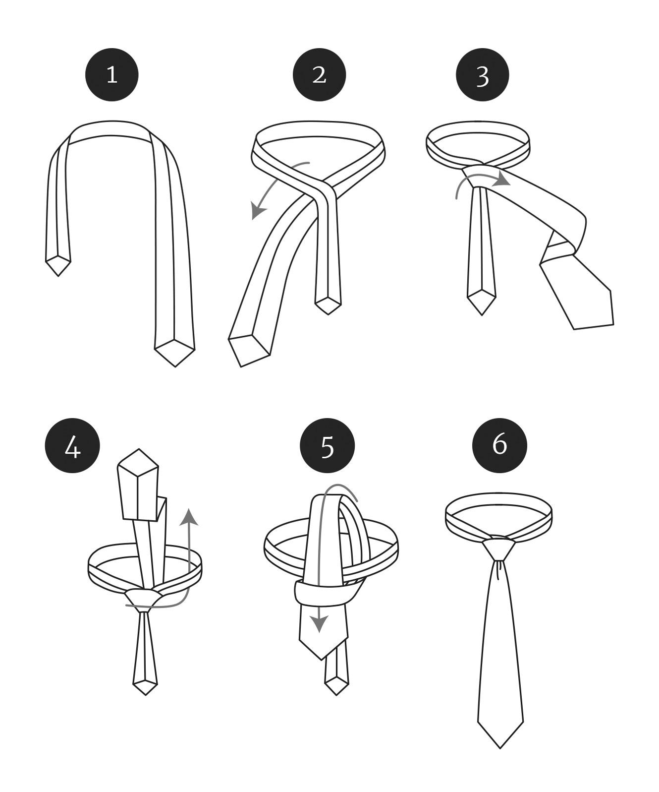 Guide till att knyta en orientalknut