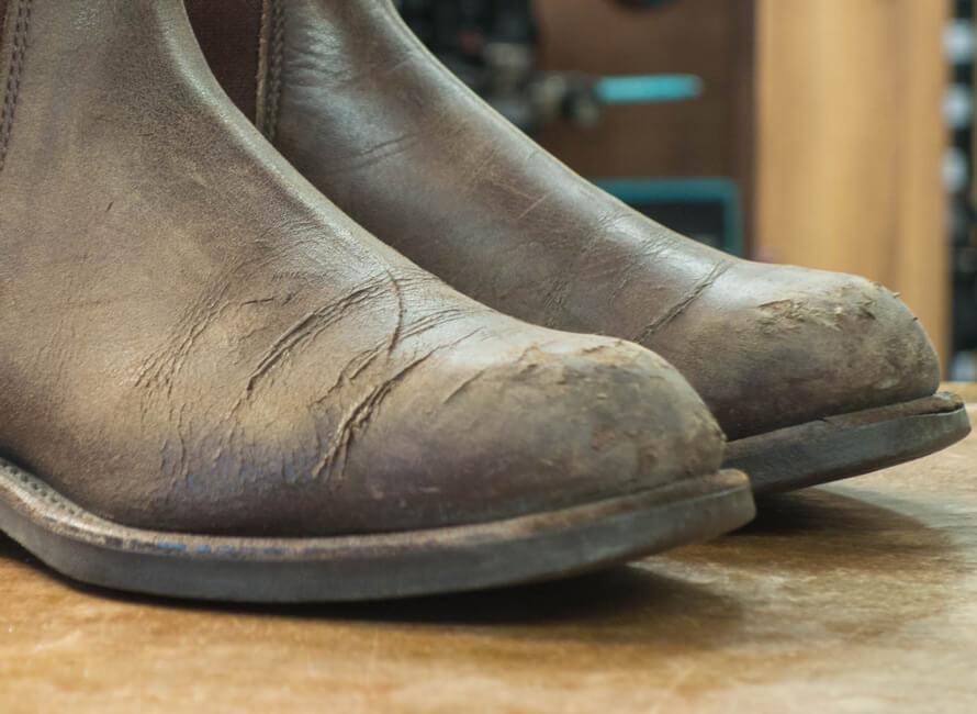 vad kostar det att klacka om skor