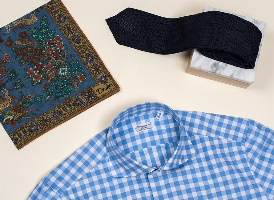 Kunsten at tilpasse slips og skjorte