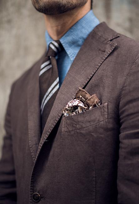 Kostym som uddaplagg