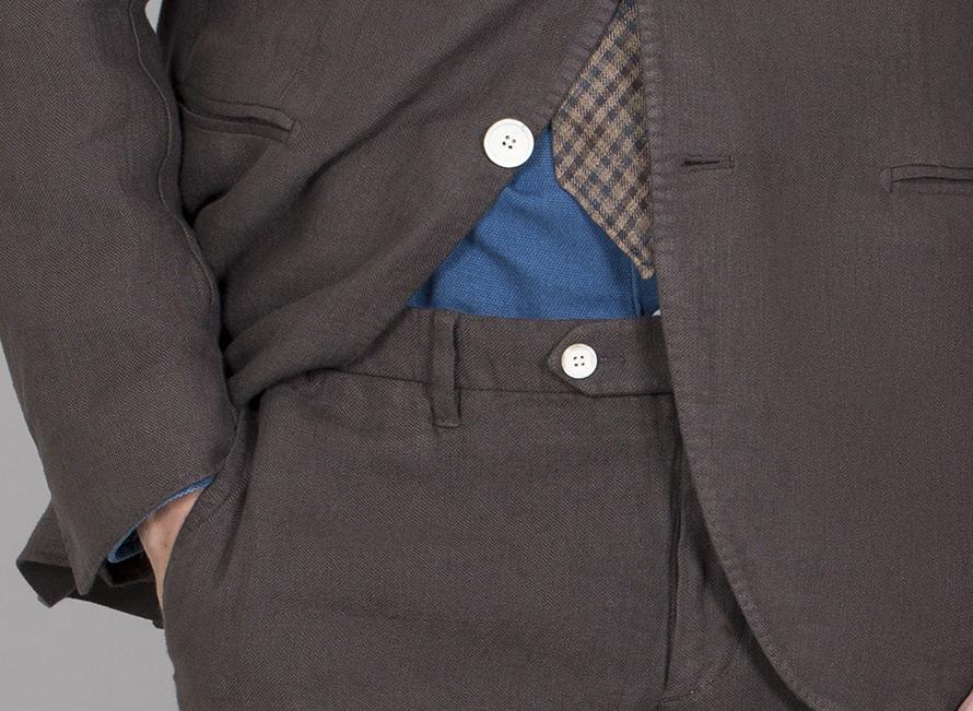 jacka och byxor i ett stycke