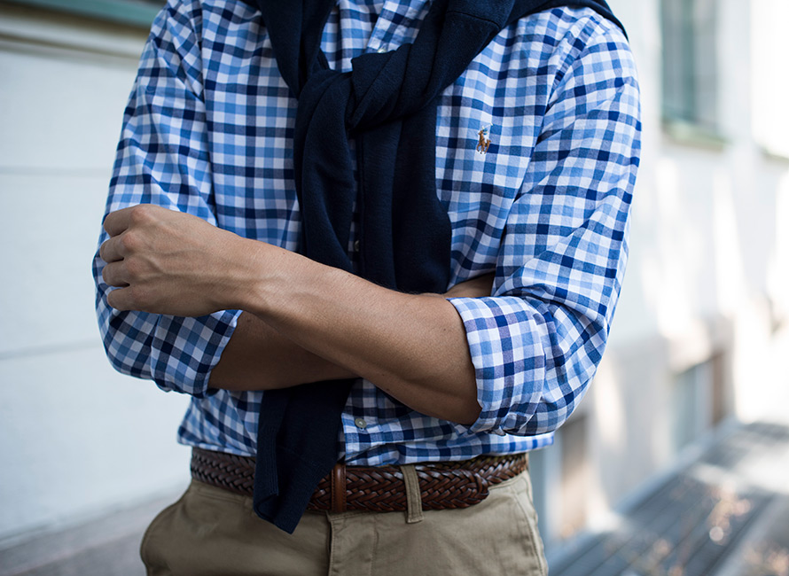 Hvordan bretter man en skjorte? | CareOfCarl.no