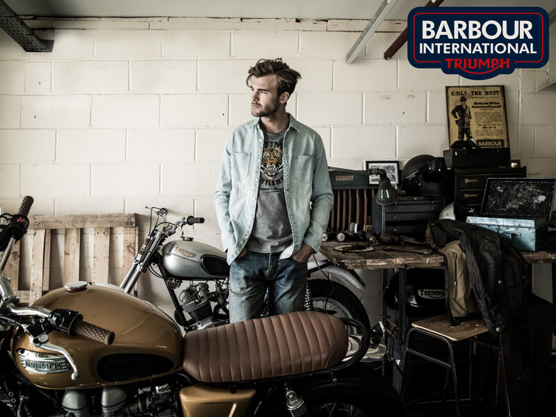 Barbour International Triumph